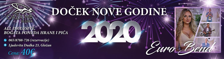 Docek nove godine 2020